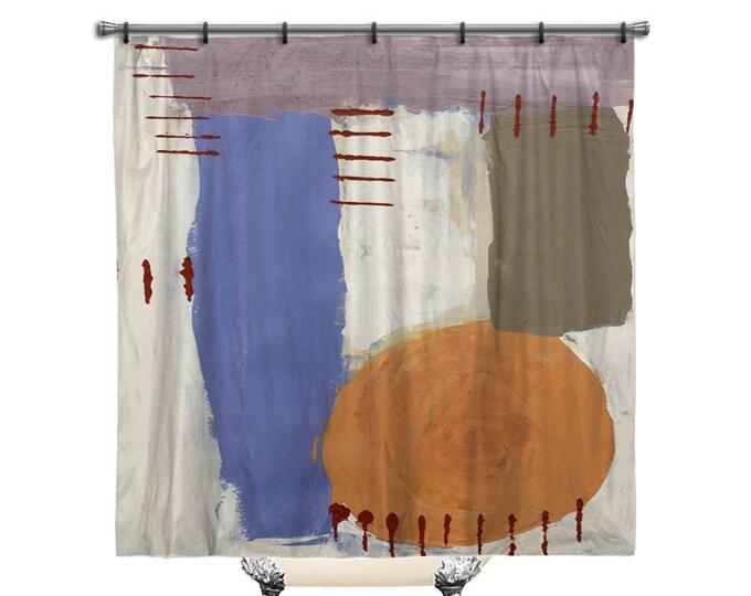 Abstract Shower Curtain, Retro art, Shower curtain, Abstract art shower curtain, shower curtains, Fabric shower curtain, Art shower curtain