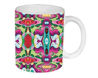 Cheri Mug, Mug, Artsy, Unique mugs, Coffee Mug, Funky, mug, coffee cup, Abstract, Art, Ingrid Padilla