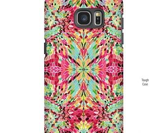 iPhone XR Case, Galaxy S10 Case,  Red pattern, iPhone 8 case, Funky Art, phone cases, Galaxy S9 Case, Note 9 Case, S8 Plus case
