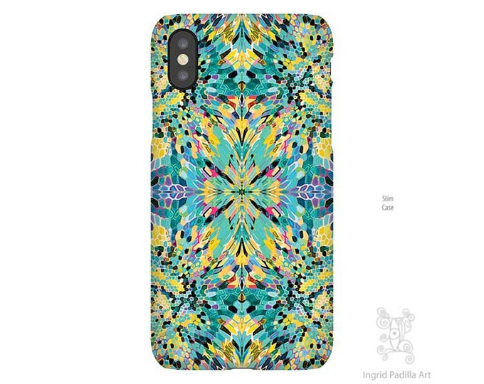 Blue iPhone case, iPhone XS Max Case, iPhone 8 Plus case, iphone 8 case, Galaxy S9 Case, Art, Phone case, iPhone 11 case, iPhone 7 Plus case