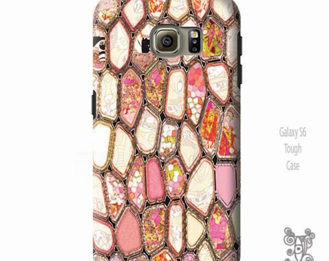 Cells in Pink, Galaxy S8 Case, Galaxy S8 plus Case, iPhone 8 case, Note 9 Case, Geometric art, iPhone x case, iphone 8 plus Case, phone case