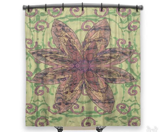 Hippie Chic, Shower Curtain, Shower curtains, boho shower curtain, Bohemian shower curtain, cloth shower curtain, Boho Decor, Hippie decor