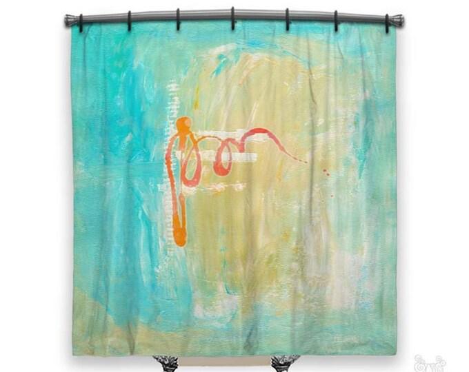 BOHO Shower Curtain, Shower curtain, Art on shower curtains, shower curtains, Abstract Art, Fabric shower curtain, Abstract shower curtain