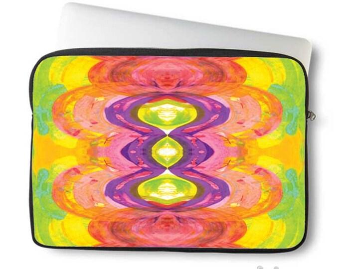 Abstract Art, Laptop Sleeve, Laptop cover, Macbook case, art, Neoprene case, Boho, colorful, Laptop case, Neoprene Sleeve, laptop sleeve