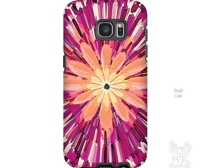 iPhone XR Case, Floral, Galaxy S9 Case, iPhone 8 case, Hot Pink Phone Case, Flowers, Funky art,  Art, iPhone 7 case, Galaxy S10 Case