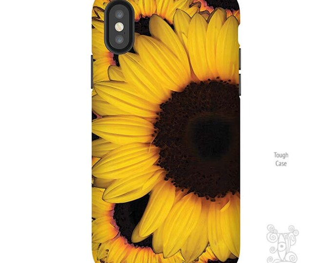 Sunflower phone case, iPhone XS Case, iPhone 8 plus Case, iphone 8 case, iPhone 7 case, iPhone case, Sunflower iPhone case, Galaxy S9 Case