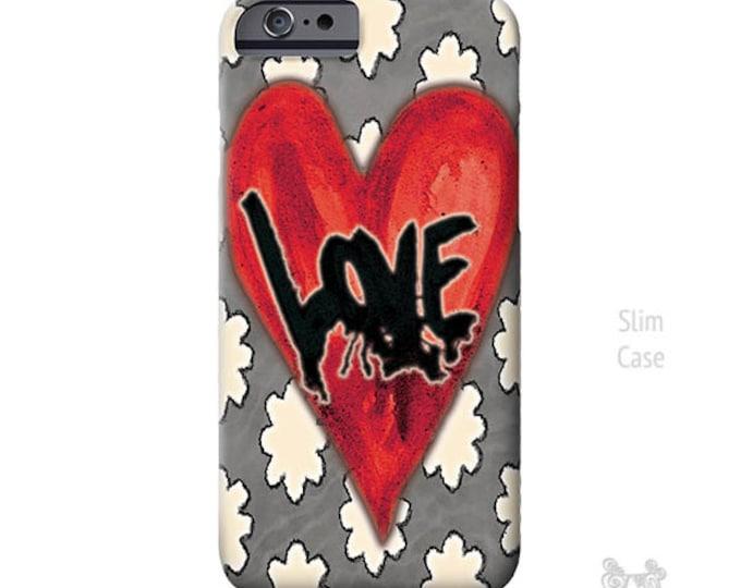 LOVE iPhone case, iphone X case, Heart iPhone Case, iphone 8 case, iPhone Xs case, iPhone 8 plus case, iPhone cases, iPhone 7 plus case, art