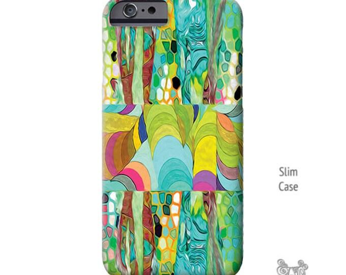 iPhone 7 case, Art, iphone 8 case, turquoise, iPhone Xs case, Artsy iPhone cases, iPhone 8 plus case, iPhone 7 plus case, Galaxy S9 Case