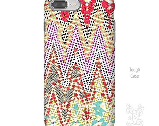 Zipper - iPhone 7 Plus Case, Geometric iPhone Case, Art by Ingrid Padilla