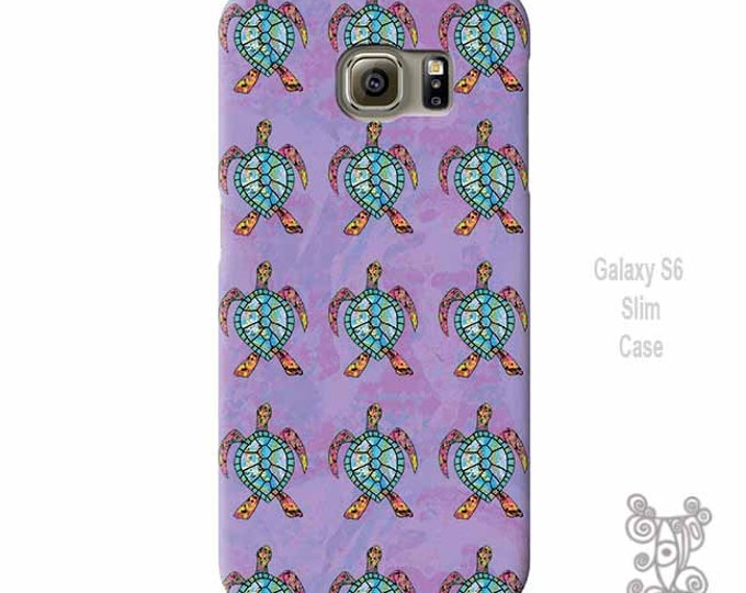 Sea turtle, Galaxy S9 Case, Note 9 case, Sea Turtle phone Case, Galaxy S9 Plus Case, iphone 8 Case, Galaxy S10 Case, Purple, iPhone X Case