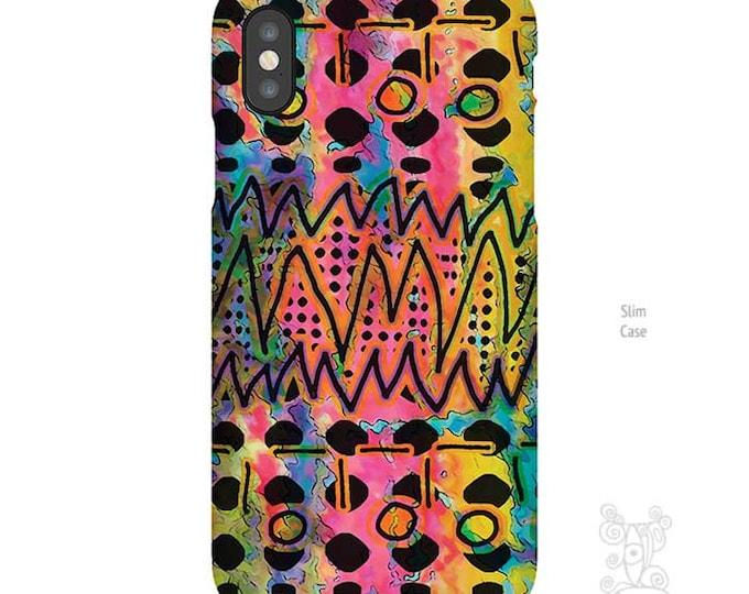 Artsy iPhone Case, iPhone X case, iPhone 8 case, Galaxy S9 Case, Note 9 Case, iPhone 8 plus case, art on iPhone cases, Doodle Art phone case