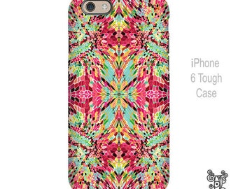 Wash Dot - iPhone Case -  Funky Abstract Art - by Ingrid Padilla
