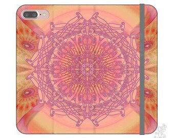 Mandala, iphone Wallet case