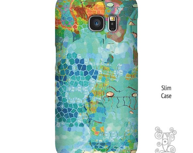 Abstract Phone case, Galaxy S9 Case, S7 Edge Case, Blue iPhone case, Note 9 Case, iPhone 7 case, Galaxy S10 Case, galaxy s6 edge case
