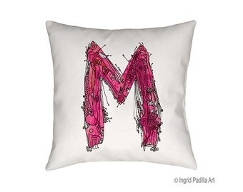 decorative letter m etsy