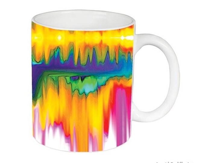 Abstract art Mug, watercolor Mug, print, Unique, Coffee Mug, Funky, mug, coffee cup, Art, Ingrid Padilla