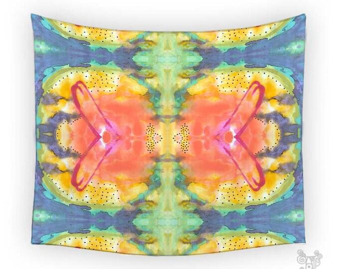 Bohemian Wall Tapestry, Chateau By Ingrid Padilla