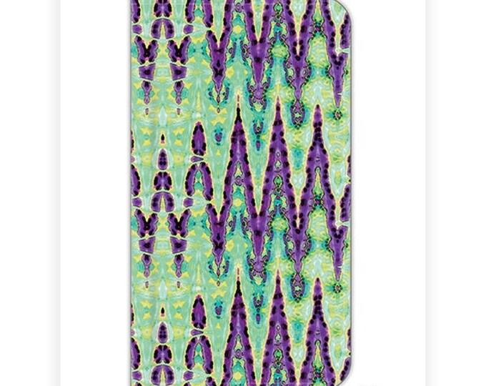 iPhone 6s plus wallet case, iPhone 7 wallet case, BOHO wallet case, abstract art, S8 Plus wallet case, S8 wallet case, iPhone 7 plus wallet