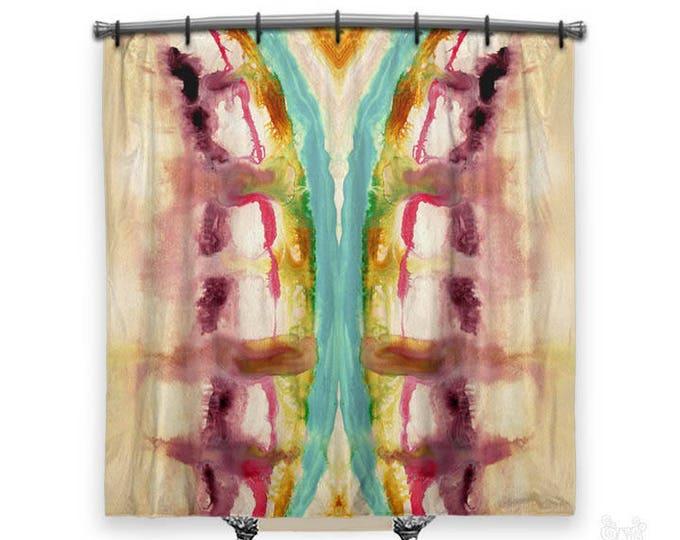 BOHO Shower Curtain, Shower curtain, hippie shower curtain, shower curtains, hippie chic, Fabric shower curtain, hippie chic shower curtain