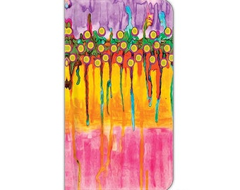 Candyland, iPhone 6s plus wallet case, cell phone wallet case, wallet case, Art, abstract art, S8 Plus wallet case, S8 wallet case, s8 plus