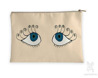 Flutter, Eyes Makeup bag, Ingrid Padilla