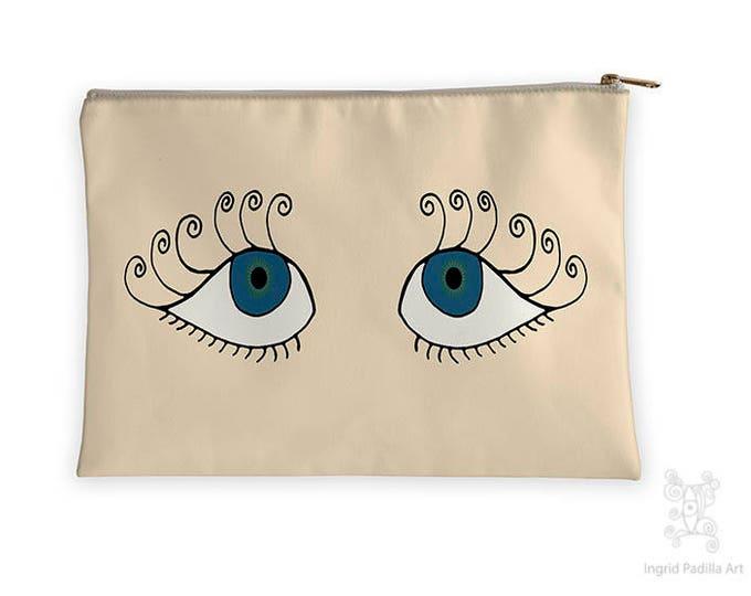 Flutter, Eyes Makeup bag, Ingrid Padilla
