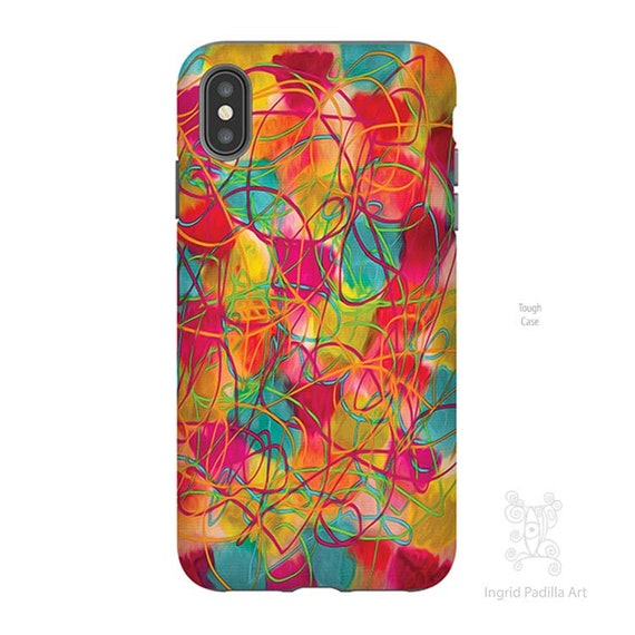Confetti, iPhone XS Max case, iPhone 8 case, iPhone 8 Plus case, iPhone 7 plus case, Galaxy S9 Case, Art, Artsy iPhone cases, Note 9 Case