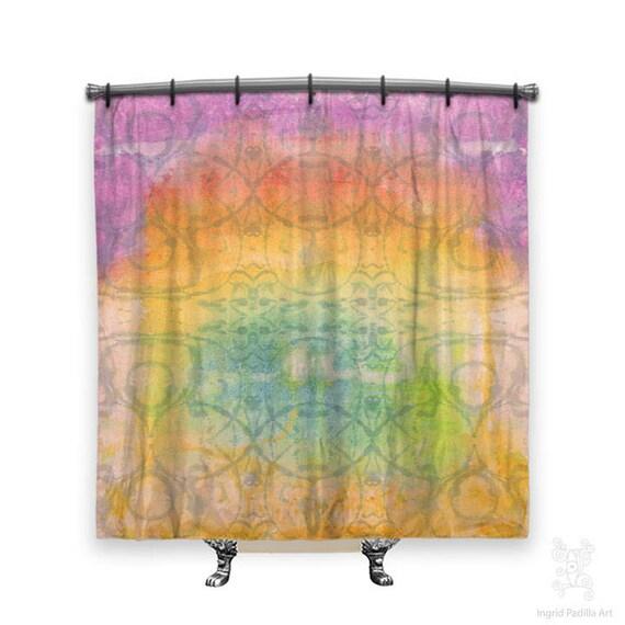 BOHO Shower Curtain, Shower curtain, cool shower curtains, shower curtains, Shabby chic, Fabric shower curtain, shabby chic shower curtain