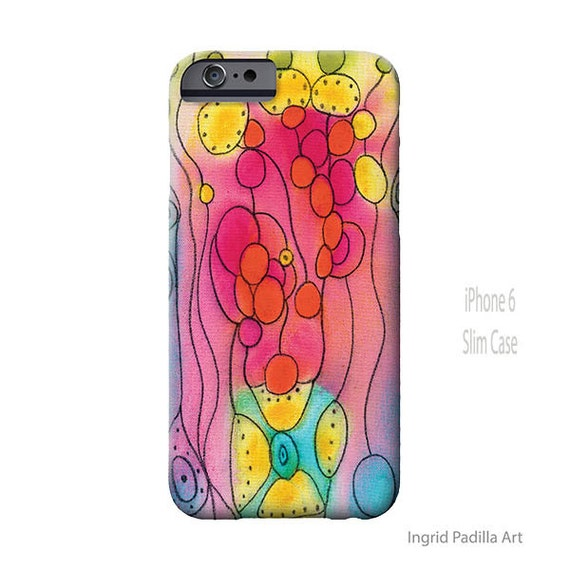 Watercolor iPhone case, Ingrid Padilla Art