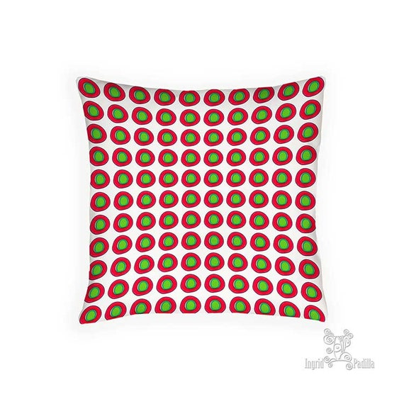 Holiday Pillow, Pillow, christmas pillow, holiday pillows, red and green pillow, Pillows, Christmas Decor, Holiday Decor, decorative pillows