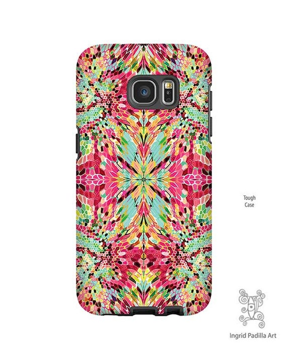 iPhone XR Case, Galaxy S10 Case,  Red pattern, iPhone 8 case, Funky Art, phone cases, Galaxy S9 Case, Note 9 Case, S8 Plus case