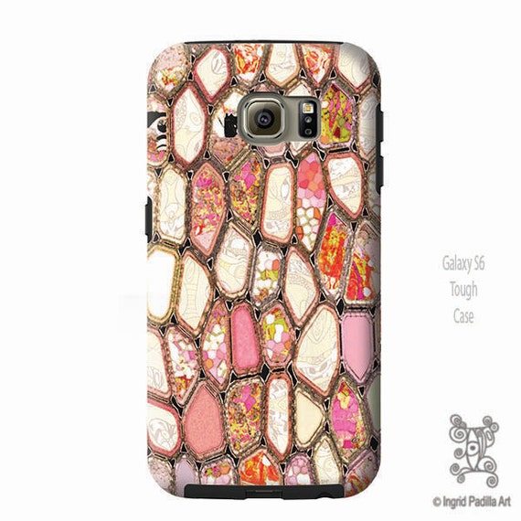 Cells in Pink, Galaxy S8 Case, Galaxy S8 plus Case, iPhone 8 case, Note 9 Case, Geometric art, iPhone x case, iphone 8 plus Case, phone case