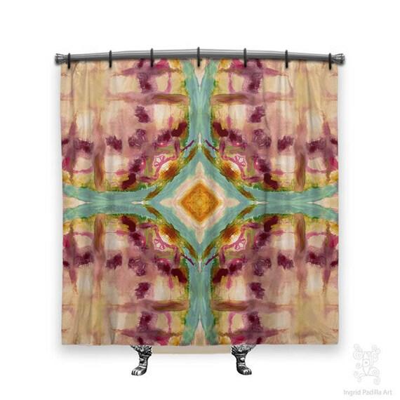 Artsy BOHO Shower Curtain Bohemian