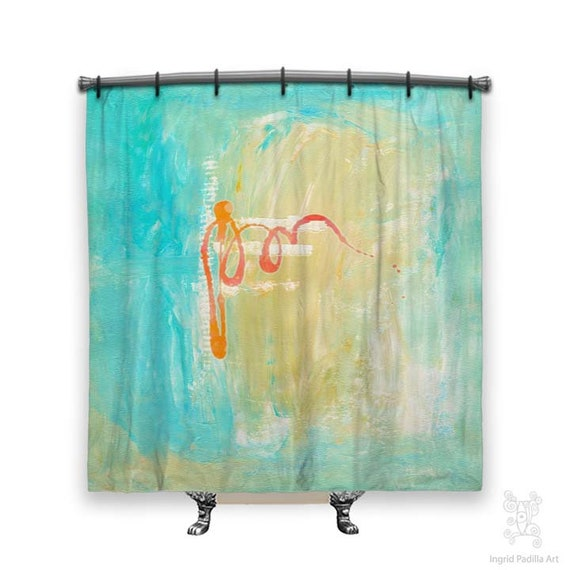 BOHO Shower Curtain, Shower curtain, Art on shower curtains, shower curtains, Abstract Art, Fabric shower curtain, Abstract shower curtain