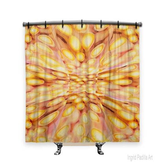 BOHO Shower Curtain, Shower curtain, Beachy Decor, Fabric shower curtain, shower curtains, Bathroom Decor, boho chic Decor, Funky Art
