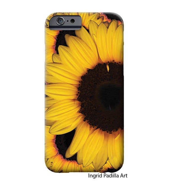 Sunflower cases, iPhone X Case, iPhone 8 plus Case, iphone 8 case, iPhone 7 case, iPhone 7 Plus case, Sunflower iPhone case, Galaxy S8 Case