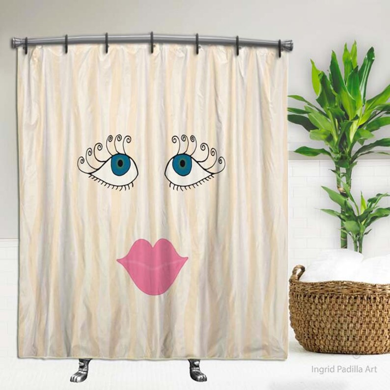Pretty Shower Curtain Girly