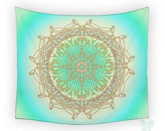 Intricately - Mandala Tapestry, by Ingrid Padilla