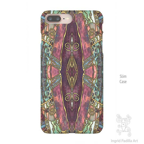 Grandiose, Boho iPhone Case, Art by Ingrid Padilla