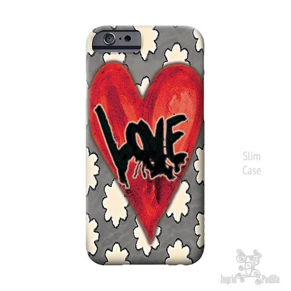 LOVE iPhone case, iphone 7 case, Heart iPhone Case, iphone 8 case, iPhone Xs case, iPhone 8 plus case, iPhone cases, iPhone 7 plus case, art