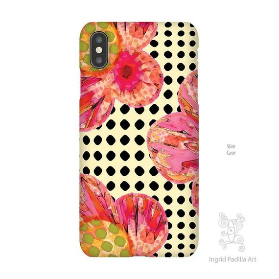 Bloom - Floral iPhone case - By Ingrid Padilla