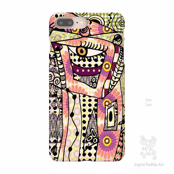 Funky Art, iPhone X Case, iPhone 8 case, Galaxy S9 Case, iPhone 8 plus Cases, abstract phone case, iPhone 7 case, Note 9 Case, ingridsart
