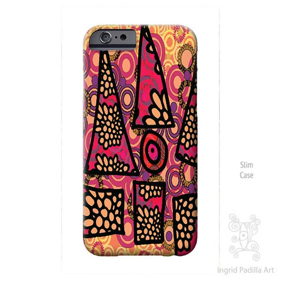 Triangle, iPhone 6s Case, iPhone 8 plus case,  Art, Funky art, iPhone case, iPhone 5S case, iphone 8 case, Galaxy S7 Case, S6 Case