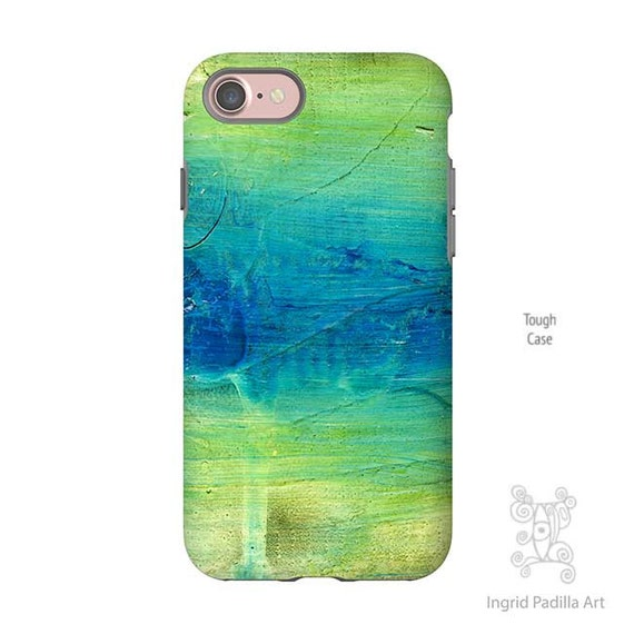 Blue Abstract Art, Blue iPhone case, iPhone XS Max Case, iphone 8 case, iphone 7 plus case, Note 9 case, iPhone 8 plus case, Galaxy S9 Case