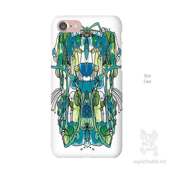 Artsy iPhone case, iPhone 7 Case, iphone 8 case, iphone 7 plus case, iPhone se case, iPhone 8 plus case, Galaxy S8 Case, Note 8 Case, blue