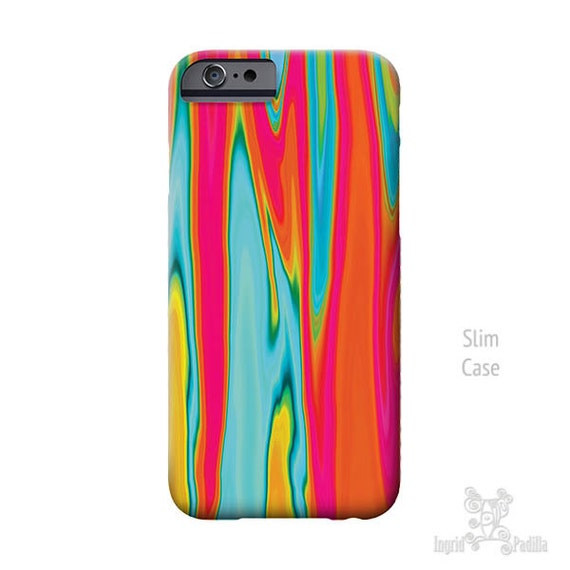 Surf, iPhone 7 Case, iPhone X case, Turquoise and red art, iPhone 7 plus case, iphone 8 case, iPhone Xs case, iPhone 8 Plus case, phone case