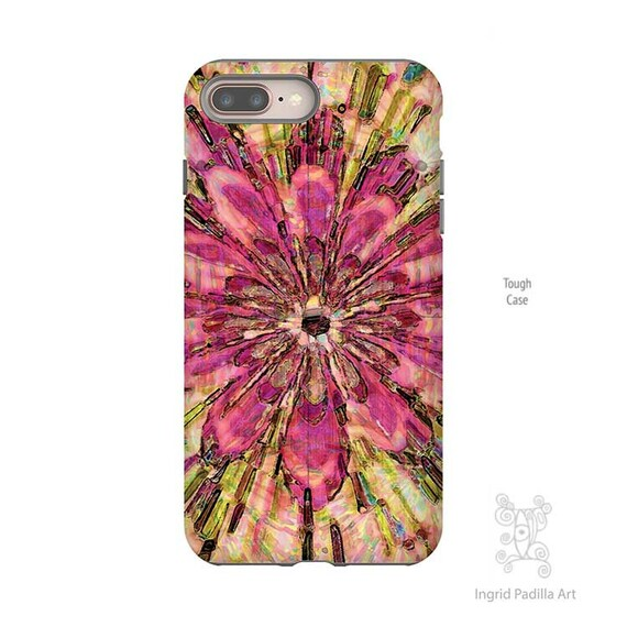 Floral iPhone case, iPhone XS Max Case, iPhone 8 Plus Case, Floral Phone case, iPhone X case, iPhone case, iPhone 7 case, Galaxy S9 Case