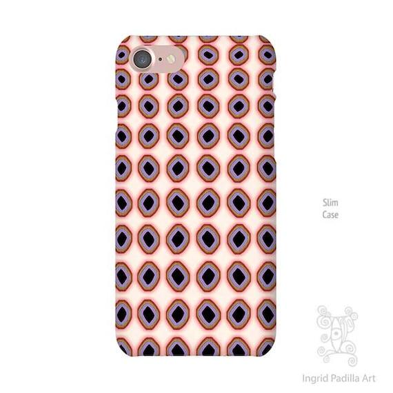 Polka Dot iPhone 8 case, iPhone 7 case, iPhone 7 plus case, iphone 8 case, hipster, iPhone Xs case, Galaxy S10 Case, iPhone 8 Plus case