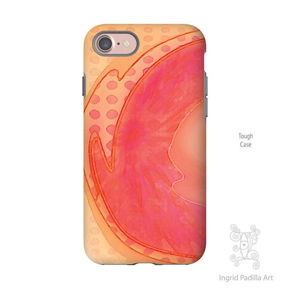 Watercolor, iPhone 7 Case, Artsy iPhone Case, iphone 8 case, iPhone 7 plus case, iPhone 8 Plus case, Galaxy S9 Case, galaxy S8 case, S8 plus