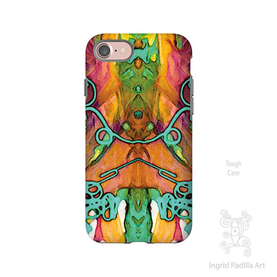 Yours Truly, Boho iPhone Case, Art by Ingrid Padilla